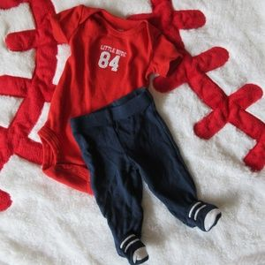 Carter's Baby Boy Preemie Outfit